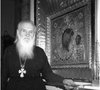 Протоиерей Василий Швец у Казанской иконы Князь-Владимирского собора